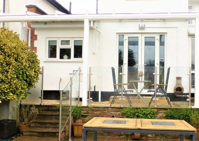 After Patio Roof Installation in Kent, Surrey & Sussex