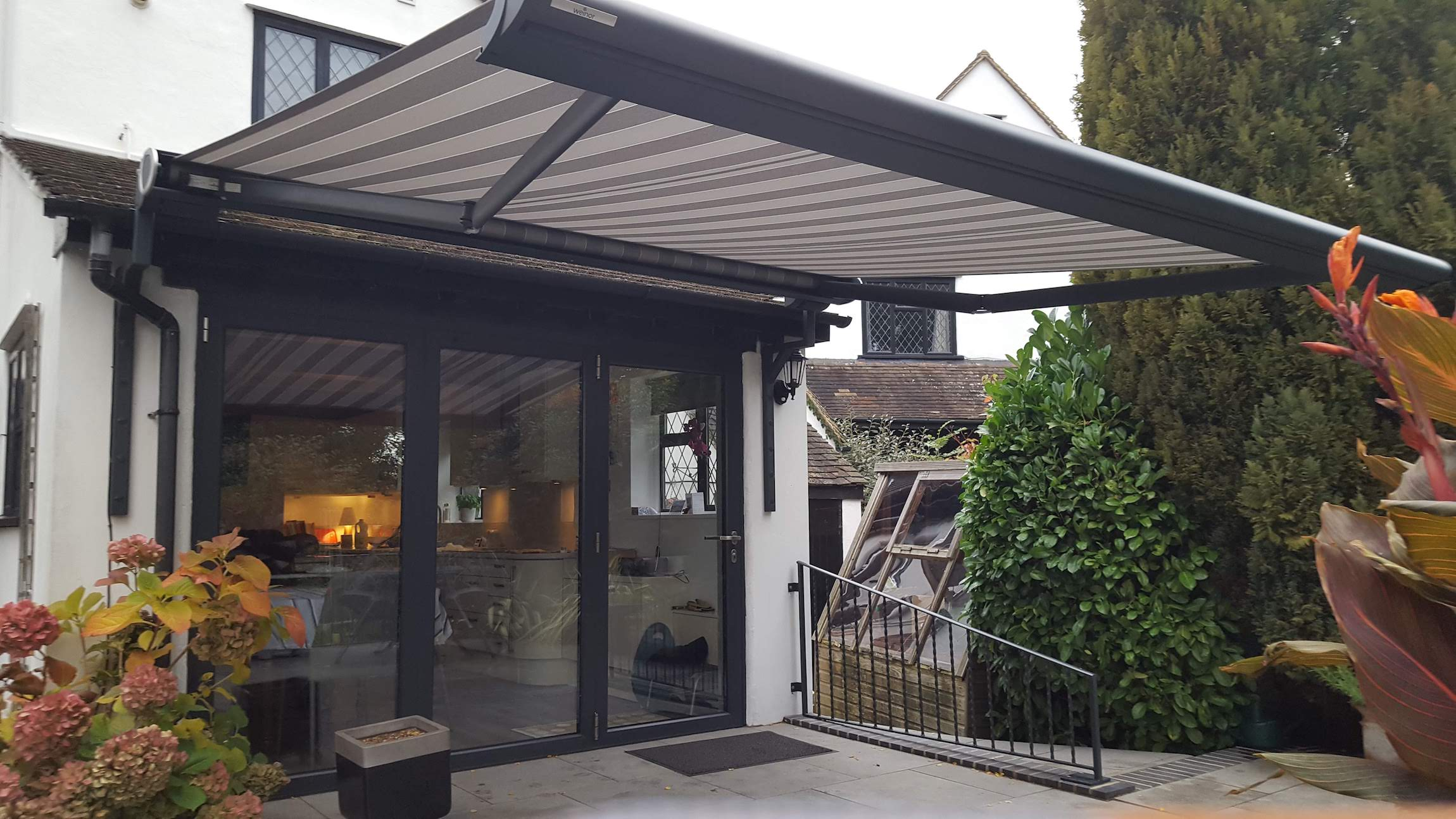 Retractable and Pergola Rain Awnings in Surrey | Shaded Cube