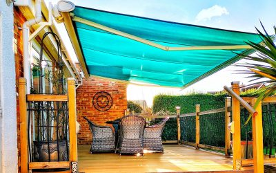 """""""Having the entire width of the patio shaded has meant that there is now much more usable space, and just at the touch of a button."""""""