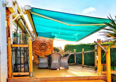 electric Semina Life full cassette awning from Shaded Cube